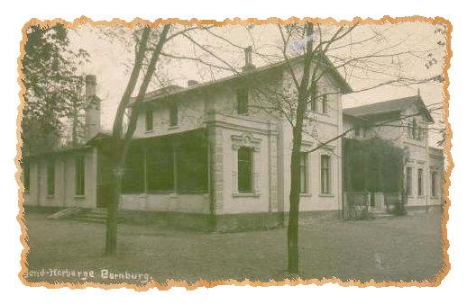 Jugendherberge Bernburg um 1930