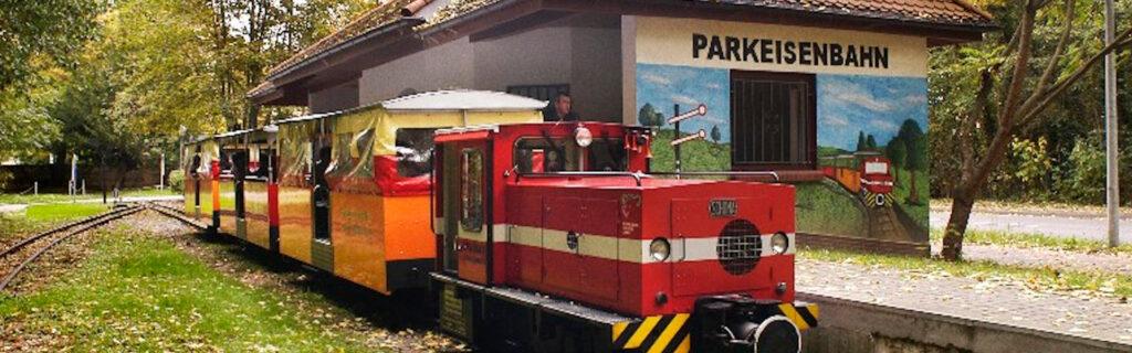 Parkeisenbahn in Bernburg (Saale)